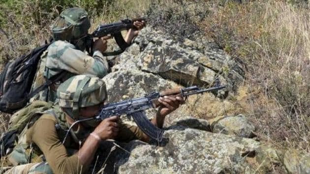 Indian troops deployed at forward posts retaliated strongly and effectively, adding the exchange of fire is underway.(PTI File Photo)
