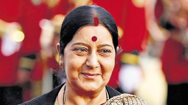 Foreign minister Sushma Swaraj.(Reuters File Photo)