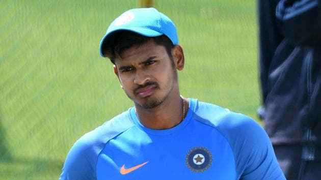 Shreyas Iyer had a stellar domestic season and was expected to play a key role for Delhi Daredevils in IPL 2017.(AFP)
