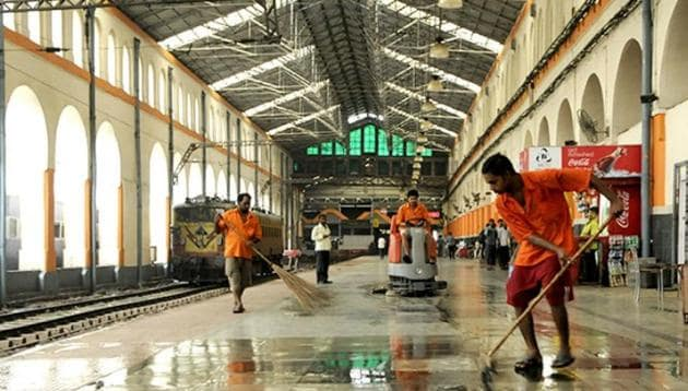 The Minister said as many as 1,253 railway stations have been identified for upgradation by the Indian Railways under the ongoing 'Adarsh station' scheme.(PTI Photo)