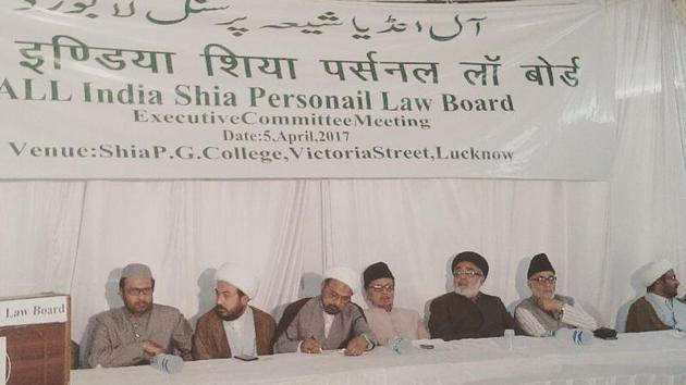 All India Shia Personal Law Board (AISPLB) said on Wednesday the dispute over a religious site in Ayodhya should be resolved through talks and also denounced the practice of triple talaq amid fresh spotlight on both the issues.(Facebook Photo)