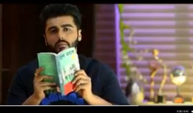 Arjun Kapoor plays Madhav Jha in Half Girlfriend.