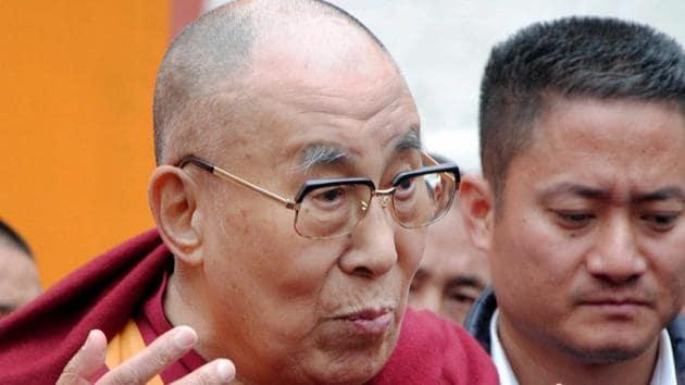The Dalai Lama's visit to Arunachal Pradesh has triggered a war of words between India and China.(PTI)