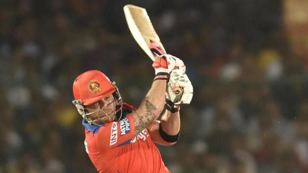 Brendon McCullum has trolled Royal Challengers Bangalore's injury list, stating that Daniel Vettori, the coach should be included in the team.(Hindustan Times)