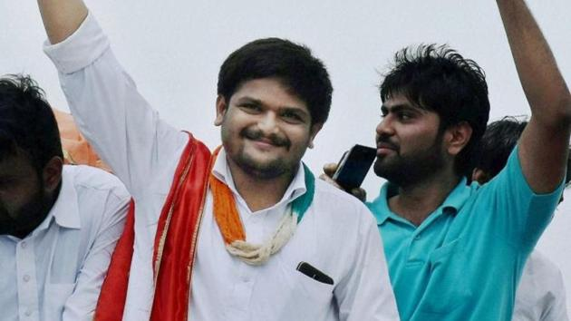 """Chirag has announced to form a political party """"to provide a better political alternative to BJP and Congress,"""" and achieve the goal of getting reservation for the Patel community under the OBC quota.(PTI File Photo)"""