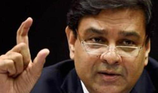 File photo of RBI Governor Urjit Patel addressing a press conference in Mumbai recently.(PTI)