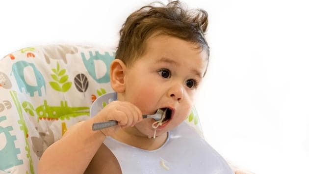 Most infants eat their first gluten-containing cereals around six months of age, a time when their immune systems are more vulnerable to viruses.(Shutterstock)