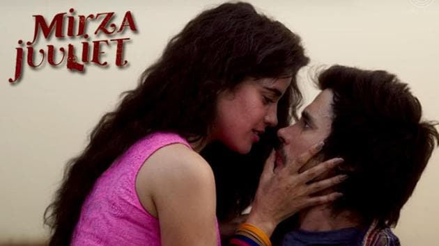 Pia Bajpai and Darshan Kumar in a still from Mirza Juuliet.