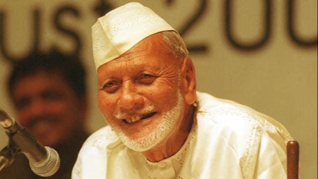 A village will be developed in Varanasi in honour of shehnai maestro Bismillah Khan.(HT File Photo)