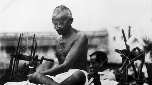 This month marks the hundredth anniversary of Gandhi's first major political intervention on Indian soil – in the Champaran district of Bihar – where he spent several months fighting for the rights of the indigo farmers.(Getty Images)