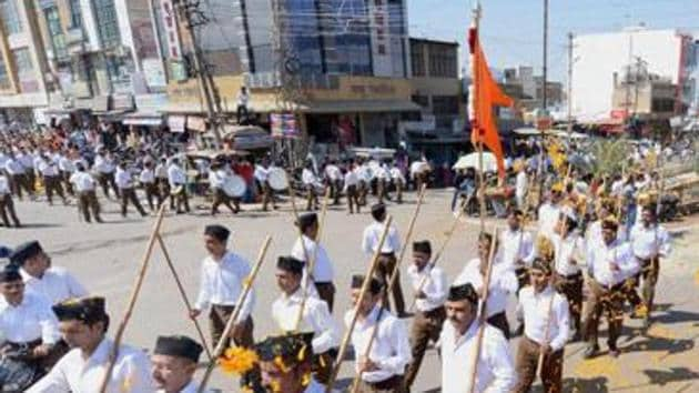 """Laxman Singh Munda, who is spearheading the RSS campaign in the region, says the organisation wants a """"Christianity-free"""" block. """"The villagers will soon return to their roots,"""" says Munda.(PTI file photo)"""