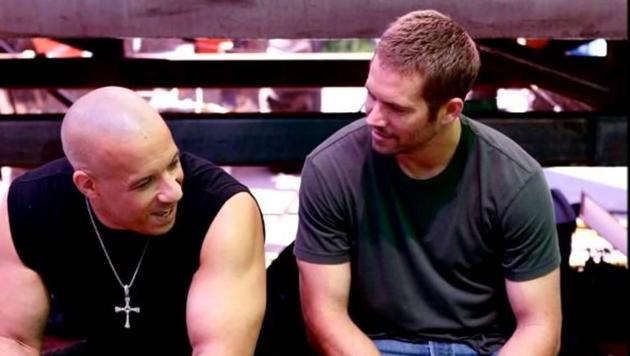 Paul Walker starred with Diesel in all but one Fast and Furious adventure.