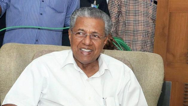 Kerala chief minister Pinarayi Vijayan said that the new rule will be applicable up to Class 10 in all government, aided, un-aided, self-financing institutions, including those affiliated to CBSE and ICSE streams.(PTI)