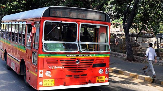 Officials plan to scale back operations in areas where four to five buses ply on the same route in rapid succession.(HT File Photo)
