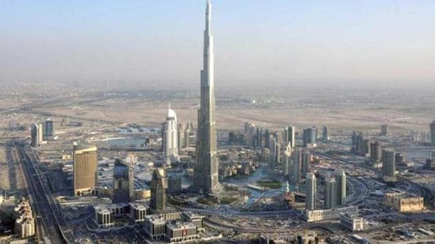 Dubai's Burj Khalifa is currently the tallest building in the world.(Reuters file photo)