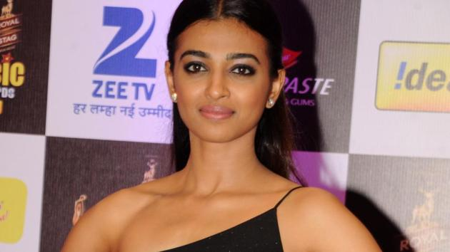 Actor Radhika Apte says that she still gets nervous before shooting for a new film.(AFP)