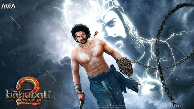 Baahubali 2: The Conclusion releases on April 28.(BaahubaliMovie/Facebook)