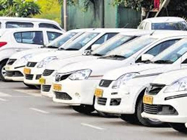 The Maharashtra government announced its new rules -- Maharashtra City Taxi Rules 2017 -- to regulate app-based taxis on March 4.(HT)