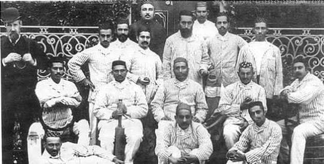 The first Parsi cricket club to tour England, and beat them in a test match.(HT)