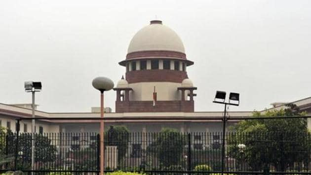 A view of the Supreme Court in New Delhi.(HT Photo)