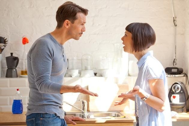 Arguments between couples can be productive and can improve a relationship.