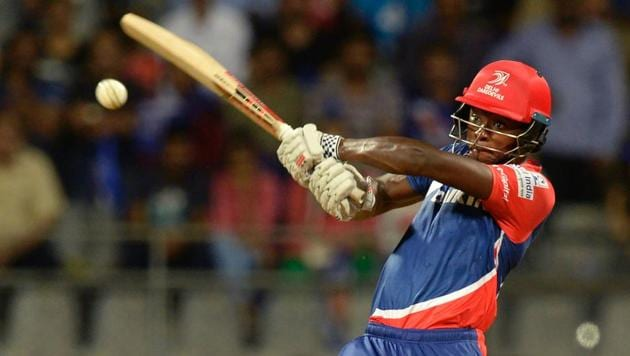 Kagiso Rabada's knock went in vain as Delhi Daredevils suffered a 14-run defeat at the hands of Mumbai Indians in IPL 2017 on Saturday.(AFP)