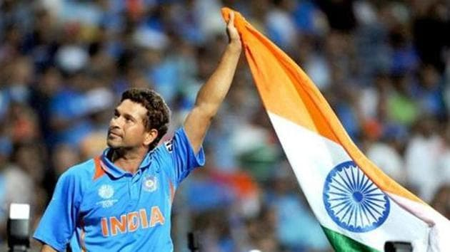 Sachin Tendulkar has often said that winning the 2011 ICC World Cup was the biggest moment of his cricket career.(AFP)