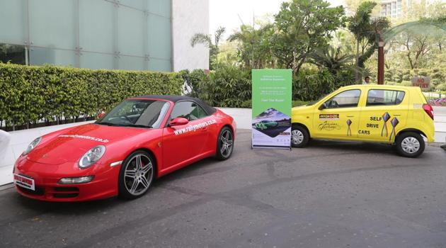 Orix India launched a supercar rental service to offer its users the experience of driving an Audi R8, a Lamborghini or a Porsche sports car at the Buddha International Circuit.(Company handout)