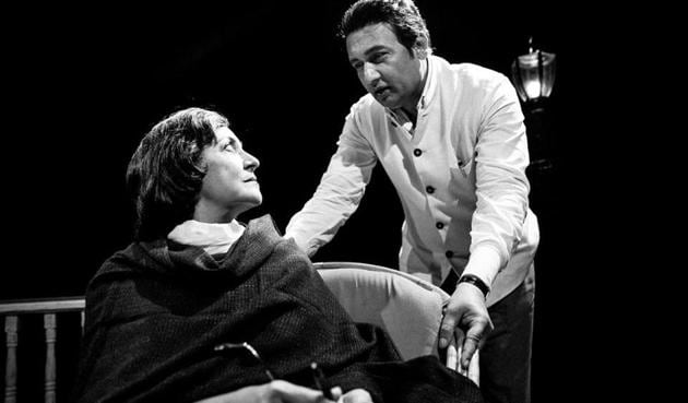 Deepti Naval and Shekhar Suman essay the roles of poets Amrita Pritam and Sahir Ludhianvi in this play that explores their relationship through the lens of one fateful meeting.