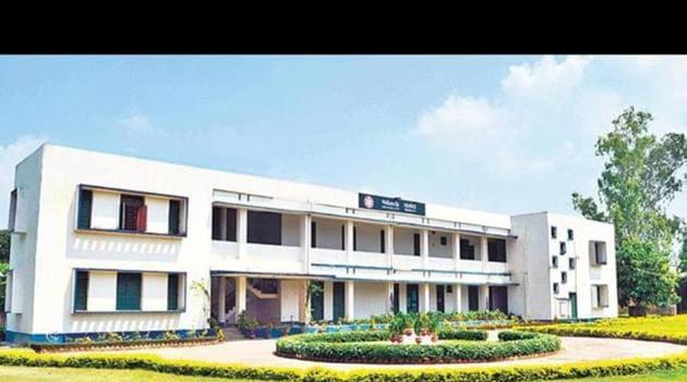 Temporary campus of the Nalanda University.(HT file photo)