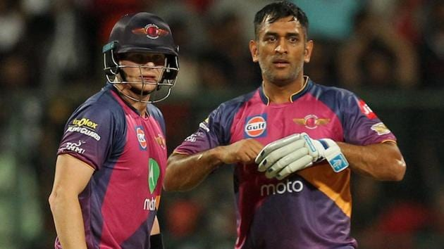 Steve Smith replaced MS Dhoni as Rising Pune Supergiant captain ahead of Indian Premier League (IPl) 2017.(BCCI)