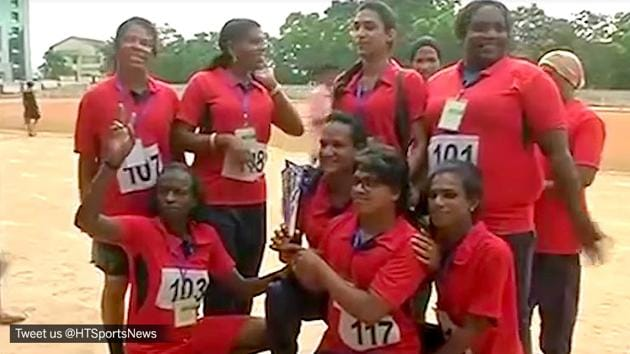 Kerala hosted India's first ever athletic meet for transgenders in Thiruvananthapuram on Friday.(Twitter)