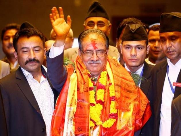 Prachanda has said that the first round of local elections on May 14 will take place at any cost.(Reuters File)