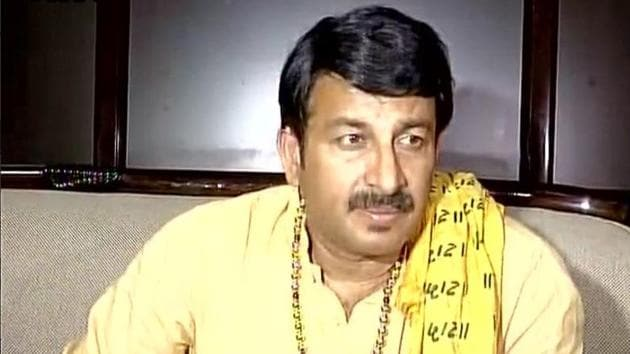 Manoj Tiwari is the BJP's Delhi unit president.(ANI)