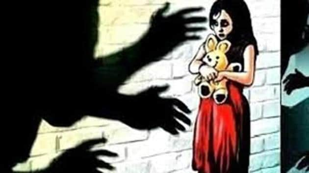 Police said the girl lives with her mother and two younger brothers. Her biological father died when she was three years old.(HT)