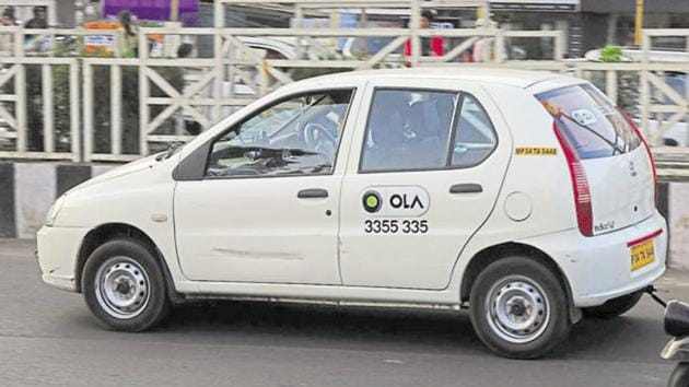 An Ola cab driver allegedly groped a woman in Bengaluru.(HT File Photo)