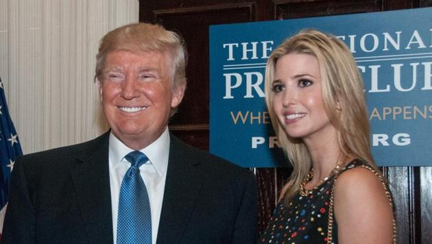 Ivanka Trump is currently a senior adviser in her father's administration.(Shutterstock)