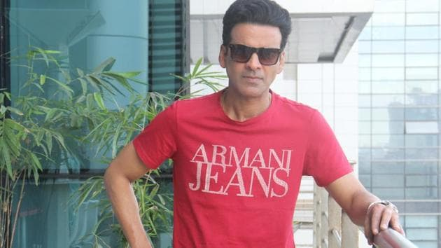 Actor Manoj Bajpayee says that the government should open an acting school in his hometown, Belwa, to utilise the acting talent there.(HT Photo)