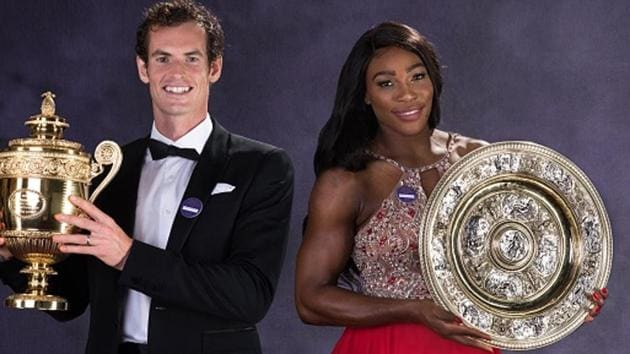 Last year, Wimbledon champions Andy Murray and Serena Williams received 2 million pounds each as prize money, a figure approximately equal to $ 2.92 million.(Getty Images)