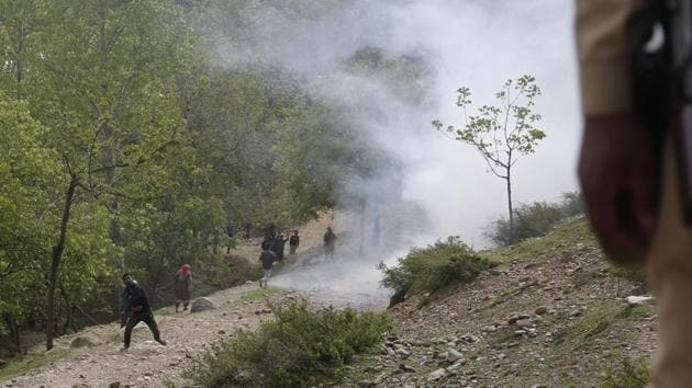 Kashmir has witnessed a wave of protests and incidents of stone-pelting since the death of militant leader Burhaan Wani.(AP File Photo)