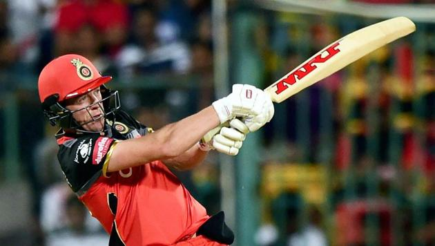 AB De Villiers has played in the IPL since its inauguration and reflected on his three years with Delhi Daredevils and seven with Royal Challengers Bangalore fondly.(PTI)