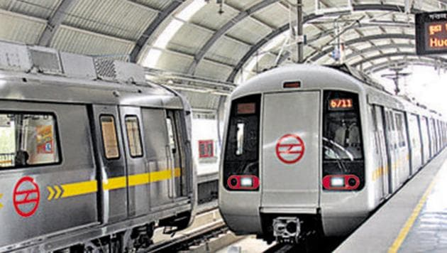 The court was hearing a plea filed by Kush Kalra, a commuter, complaining that Delhi Metro does not provide toilets, drinking water and dustbin facilities at any of the stations here.(Hindustan Times)