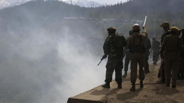The Indian Army has said Pakistani troops killed two of its soldiers patrolling the border on Monday before mutilating their bodies.(AP Photo)