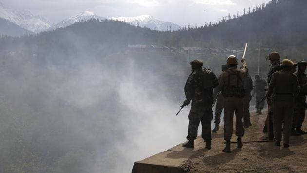 An Indian Army patrol team was taken attacked by Pakistan's Border Action Team more than 250 metres deep inside Indian territory.(AP File)