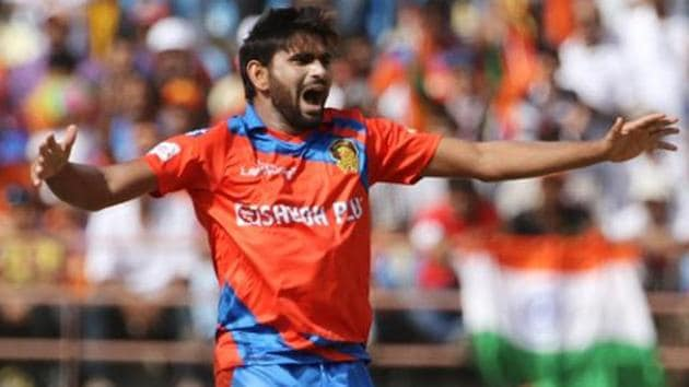 Nathu Singh joined Gujarat Lions at the start of the 2017 Indian Premier League.(BCCI)
