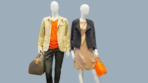 The study showed that mannequin body types used by fashion stores promoted unrealistic body ideals.(Shutterstock)