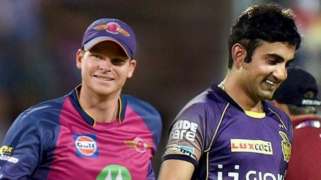 Live streaming of Kolkata Knight Riders vs Rising Pune Supergiant IPL 2017 match at Eden Gardens today will be available online from 8 PM IST. Both teams are gunning for a playoff berth(HT Photo)