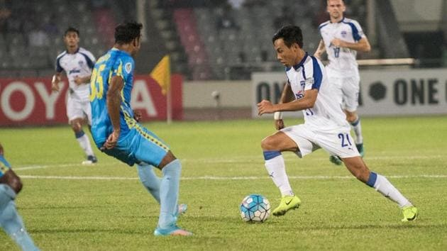 Bengaluru FC were defeated 2-0 by Abahani Limited Dhaka in their AFC Cup group stage encounter.(Twitter)
