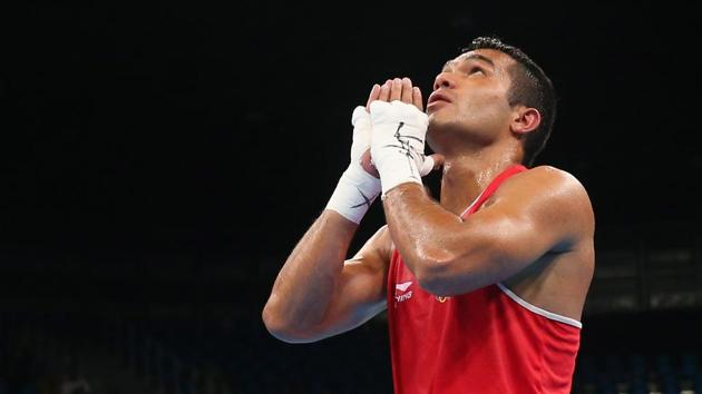 Vikas Krishan and three others qualified for the World Boxing Championships.(Getty Images)