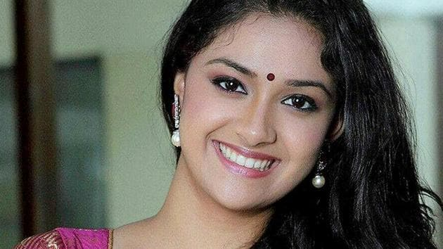 KeerthiSuresh, who is currently seeing a golden run on box office, also has highly anticipated Savitri biopic Mahanati in her kitty.